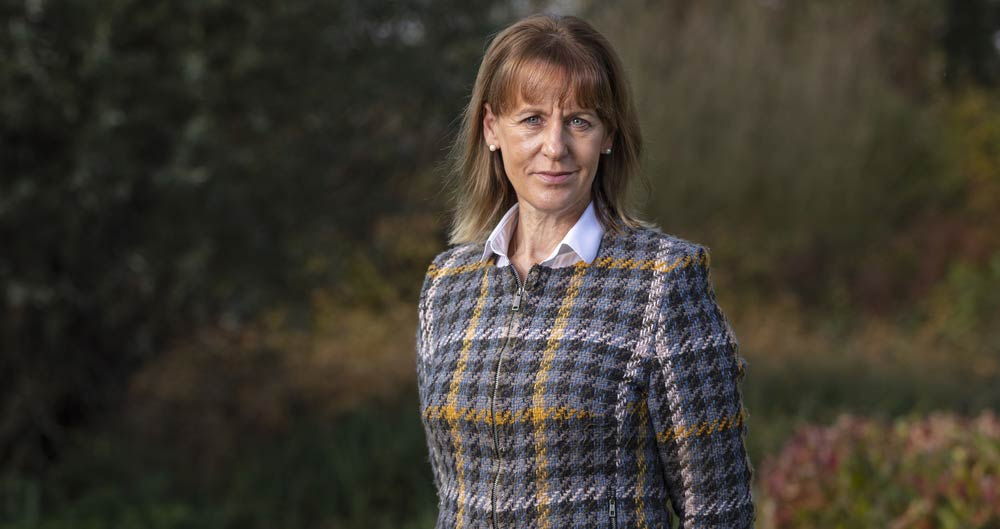 An image of Minette Batters, NFU President, pictured at NFU HQ, Stoneleigh, November 2019