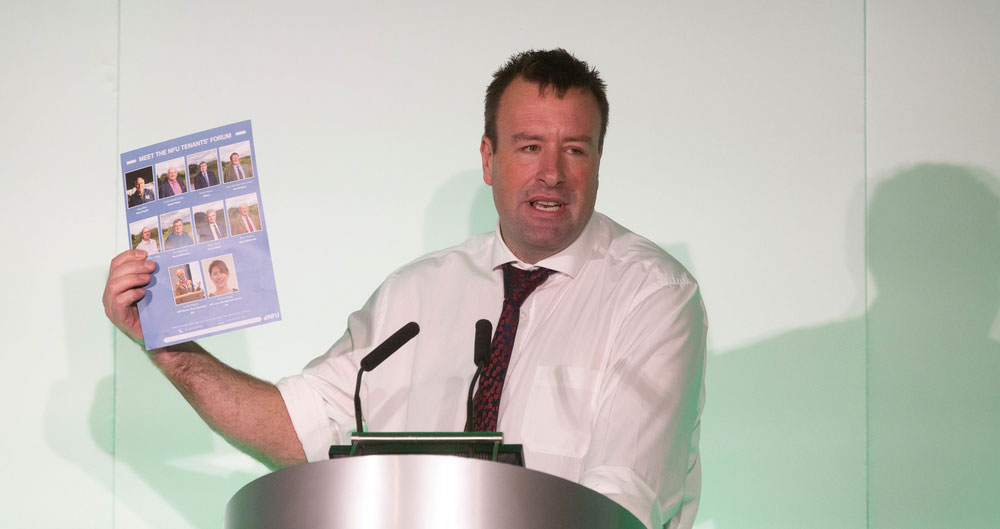 NFU Tenants Conference hears that sector has exciting, modern future