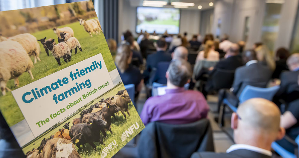 NFU seminar on livestock and climate change