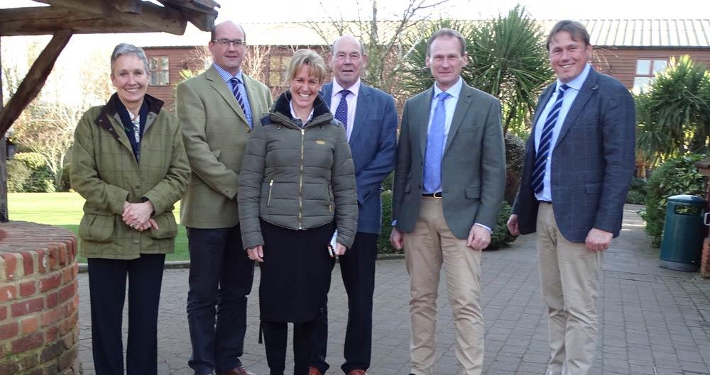 NFU President Minette Batters visits Barleylands in Essex