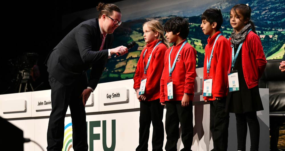 NFU20: How we are inspiring our nation's schoolchildren