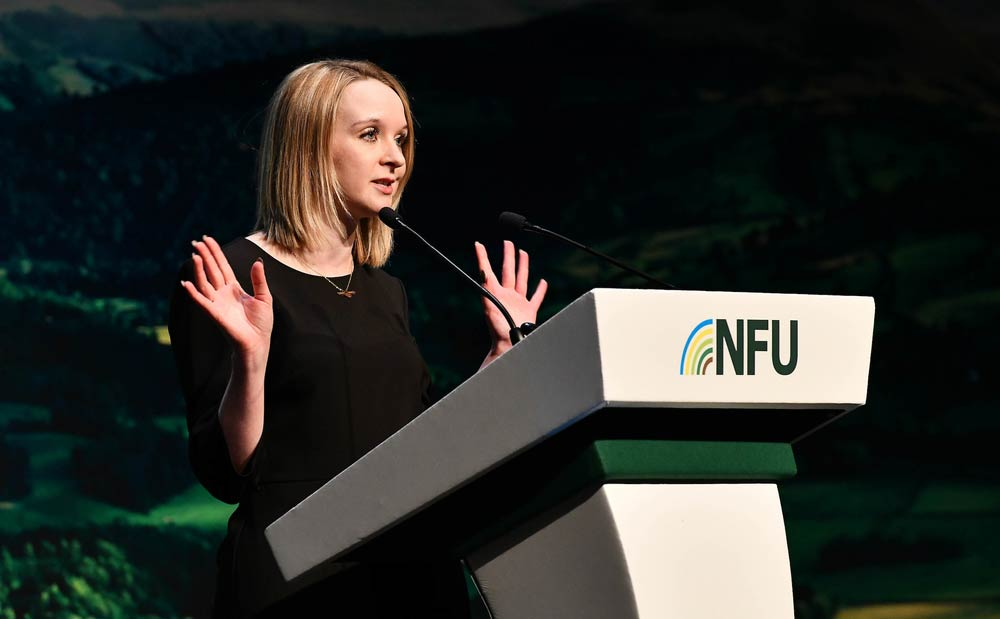 Photos of the education session at NFU conference with Education manager Josh Payne, Education Officer Jennie Devine, Abby Brady Ronald Ross School, Brinder Bains Ronald Ross Primary School, Charlotte Hudson Huh Lowe farms, Alice Montgomerie Student - Quest Professional