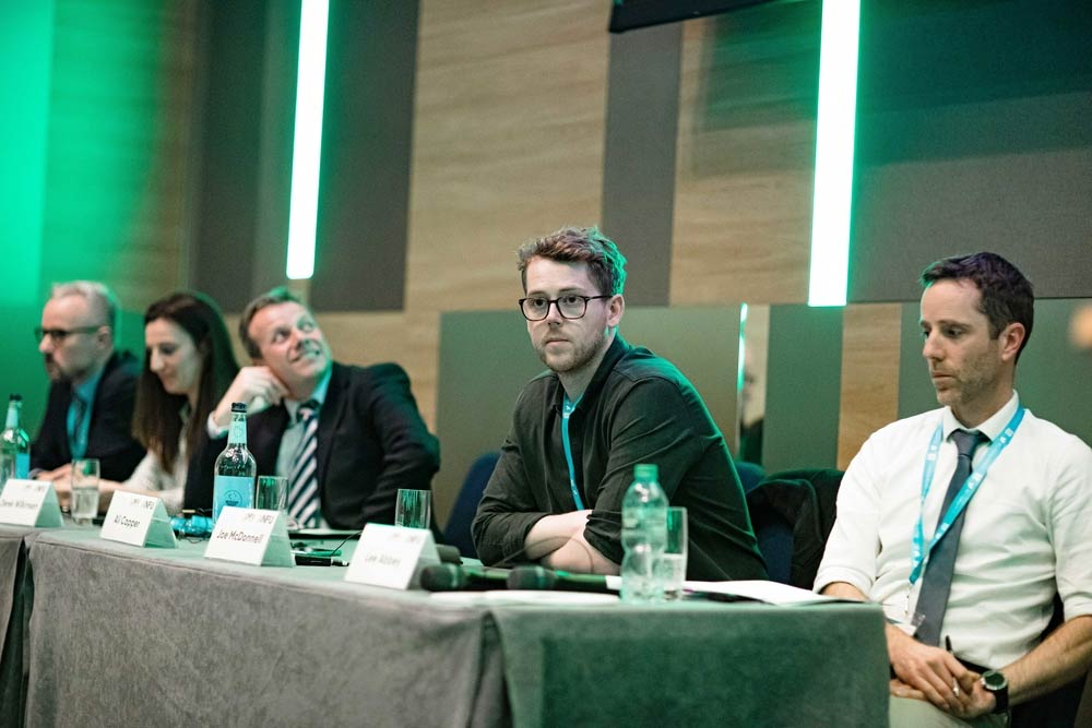 Images from the horticulture and potatoes session at nfu conference 2020