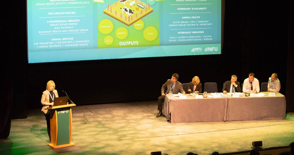 NFU20: Animal health and welfare - protecting and improving our reputation