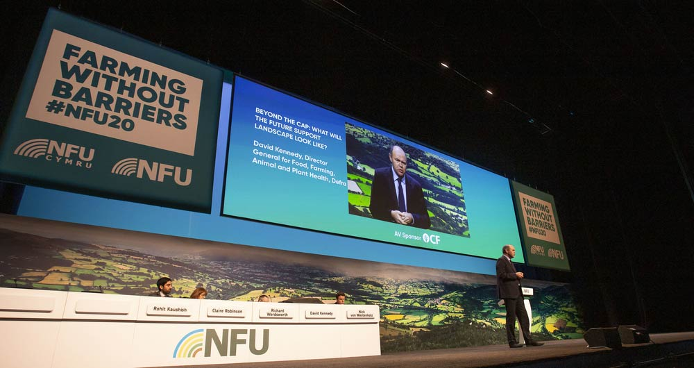 Images from the cap workshop at NFU confererence 2020