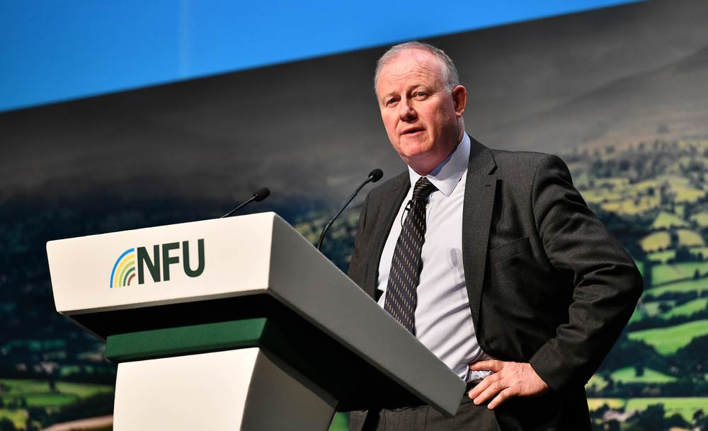 Images from the climate change session at NFU conference 20.