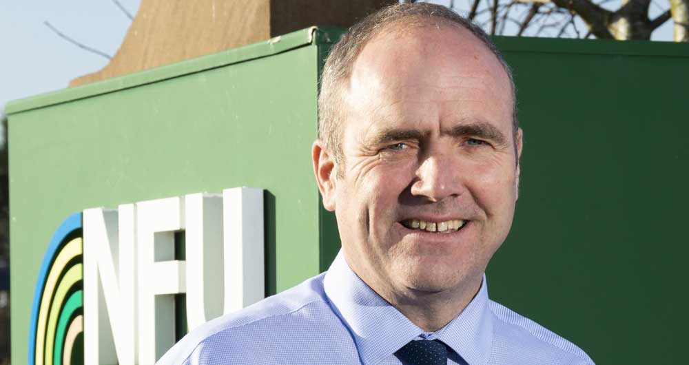 Gary Ford, taking over as NFU East Anglia regional director in summer 2020