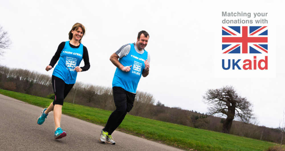 Team NFU gearing up for London Marathon in aid of Farm Africa