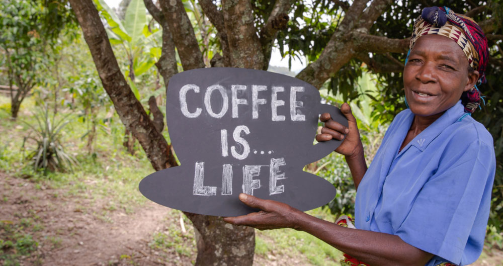 Coffee is life - Farm Africa 2019