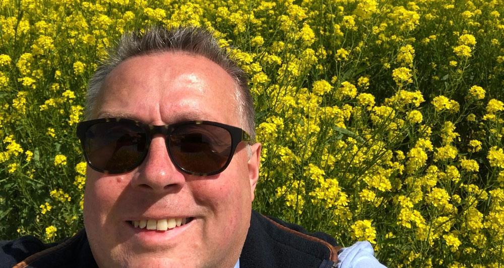 Michael Sly mustard farmer for Colmans