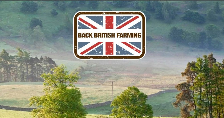 An image of the Back British Farming Campaigners Facebook group header image artwork