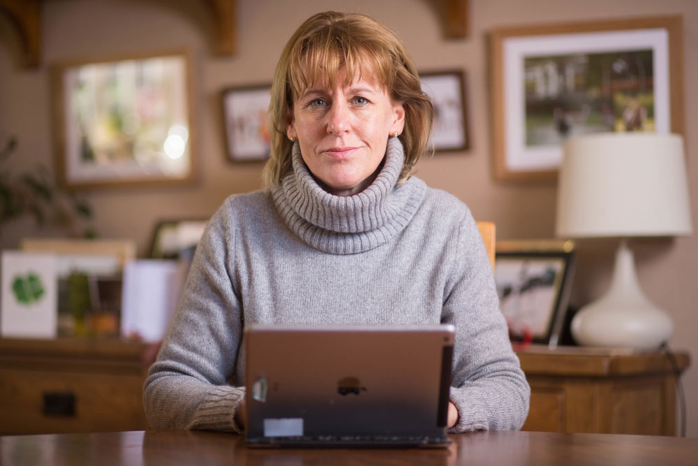 Minette Batters pictured at home
