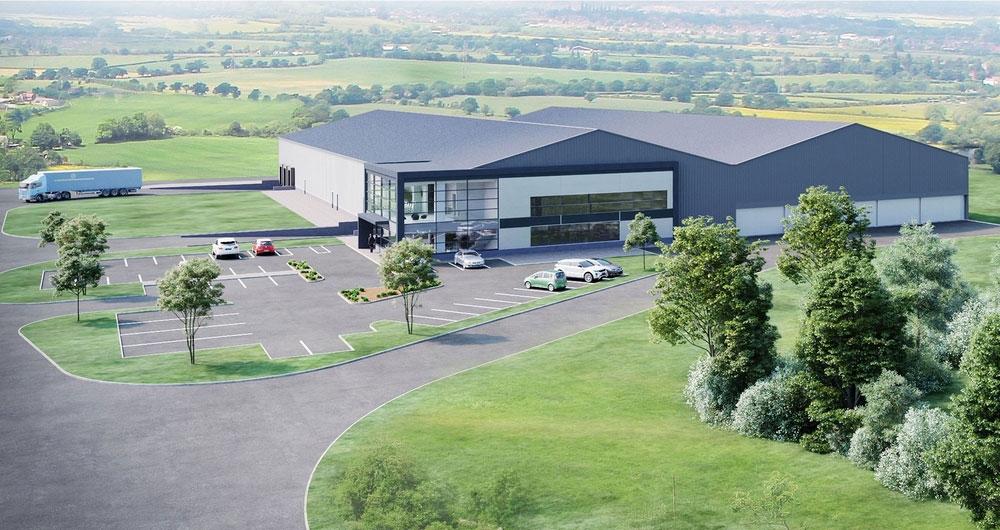 Hughes Mushrooms Facility at Holme on Spalding Moor