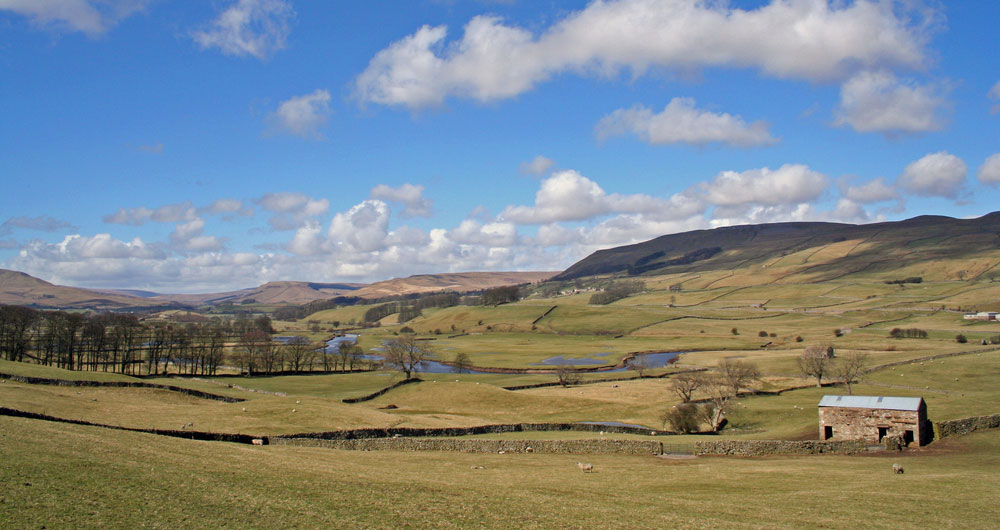 A view of Wensleydale in Yorkshire
