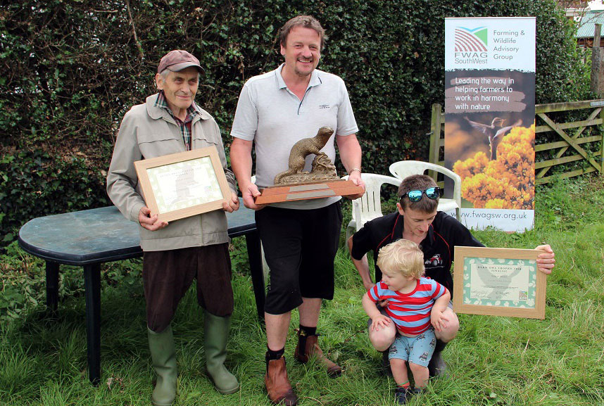 Devon Bronze Otter Award 2018