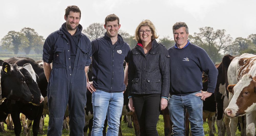Farming families: Putting Cheshire clotted cream on the food map