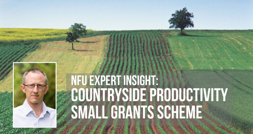 NFU advice: CPSG Round 2 - how to apply for funding