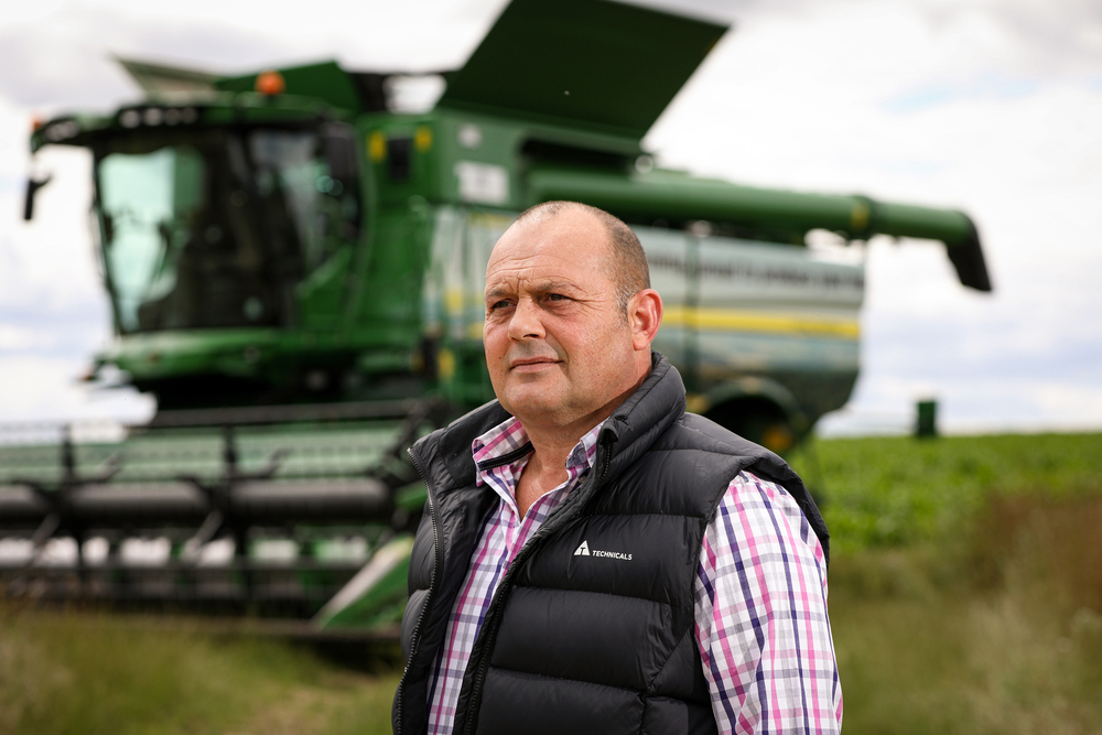 Crops board chairman Matt Culley has big hopes for the sector next year