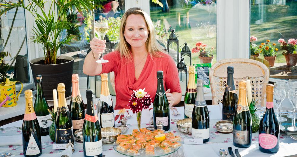British sparkling wine is put to the taste test